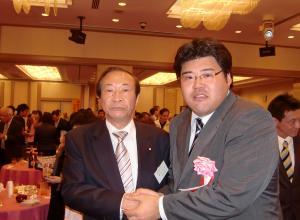 福島みずほ国政報告会20101018重野幹事長と