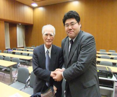 2010浅沼集会_村山総理と