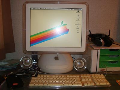 これが10年愛用のMacですわ