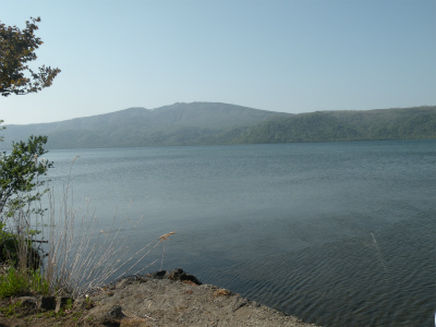 6月4日の屈斜路湖