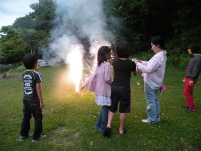 仁伏神社夏祭り