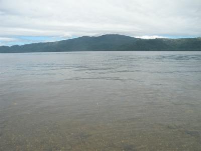 8月9日の屈斜路湖
