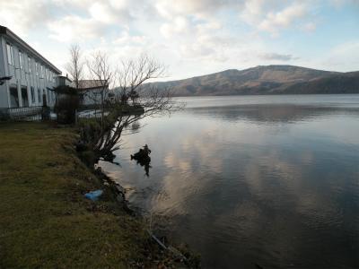 12月4日の屈斜路湖