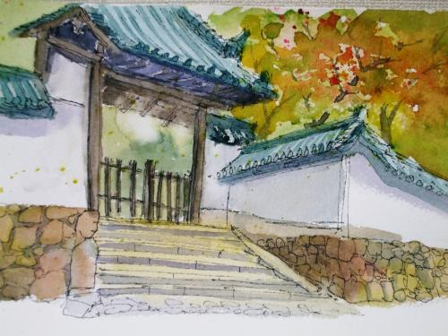 奈良二月堂 付近