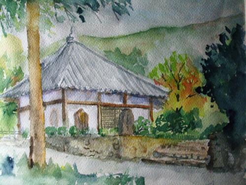 久安寺 地蔵堂