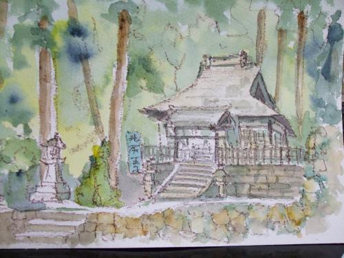 熊野古道 滝尻神社