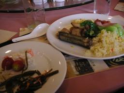北京の朝食