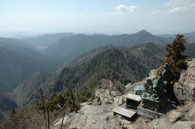 鐘掛岩からの眺望