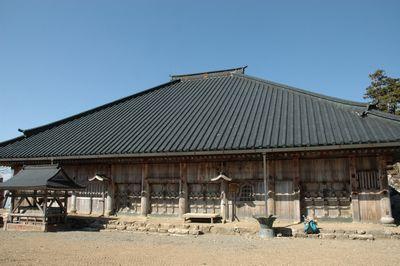 大峯山寺本堂(山上蔵王堂)