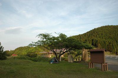 那須高原のテント場