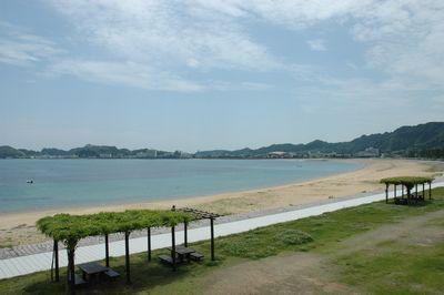 那智勝浦の海岸