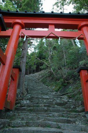 神倉神社石段