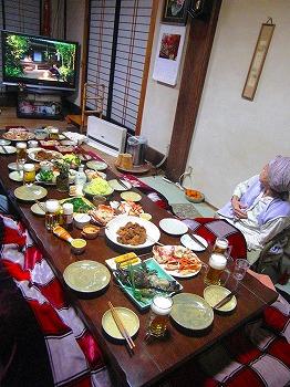 元日の晩餐
