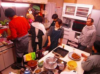 大晦日の台所