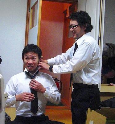 ネクタイは苦手…