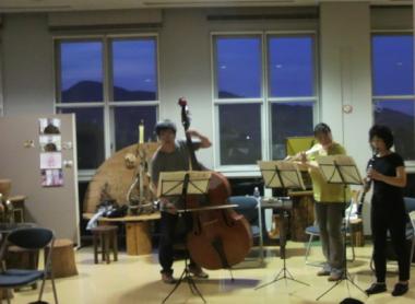 がくちょうのたわごと ~熊野吹奏楽団~-合宿