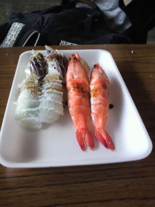 がくちょうのたわごと ~熊野吹奏楽団~-唐戸市場で寿司