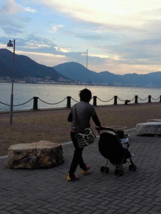 がくちょうのたわごと ~熊野吹奏楽団~-夕方の海響館