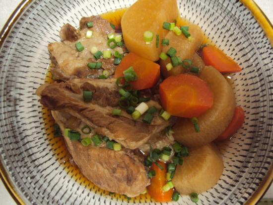 豚軟骨 煮物1