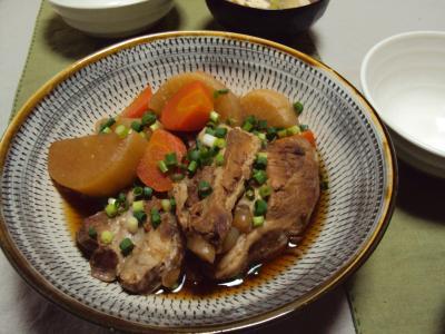 豚軟骨 煮物2