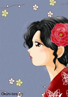 昭和レトロな女性