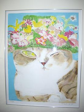 ミケ花冠の絵