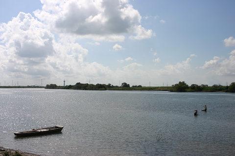 揖斐川の風景