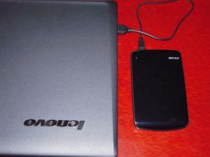 ポータブルハードディスクドライブ