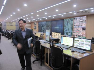 統合管制室