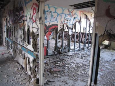 かつての病室