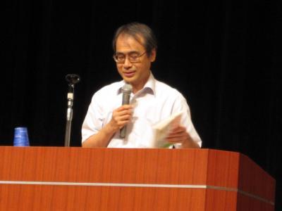 岡田知弘先生の講演
