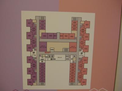 病棟平面図