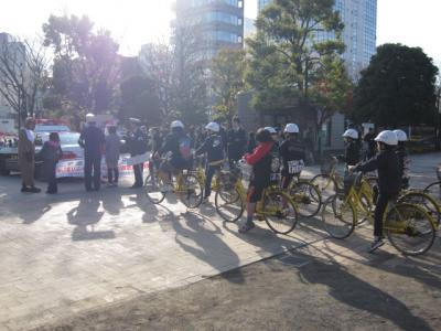 児童自転車隊