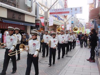 それから県警音楽隊