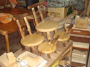 かわいい椅子たち
