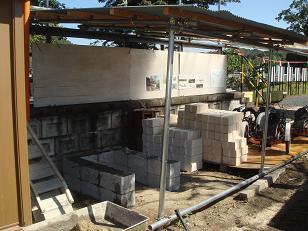 石窯の基礎
