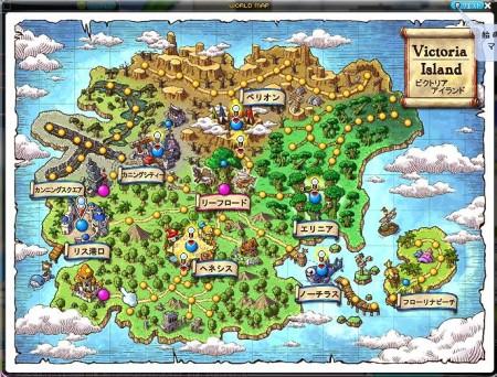 ビクトリアアイランドマップ