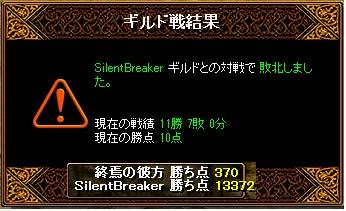 Gv 2010 VS SilentBreaker 結果