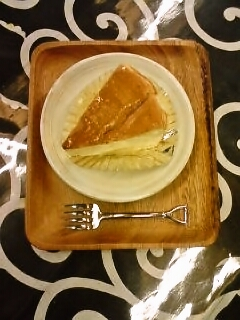 喜多亭のチーズケーキ