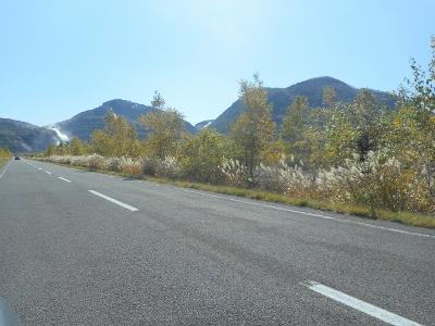 道東は紅葉が始まっていた