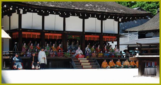 京都下賀茂神社葵まつり