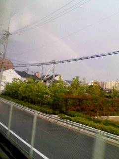 虹 阪急車窓から 100603_1729~001