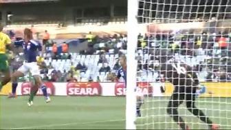 ワールドカップ2010 日本 vs カメルーン 本田圭佑ゴール 3 大久保 本田
