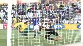 ワールドカップ2010 日本 vs カメルーン 本田圭佑ゴール 4 Finish