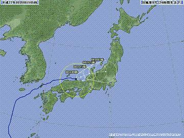 台風9号 1009-00