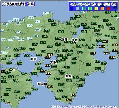 気温 201009230600-00