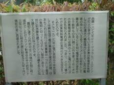 エジソン記念碑 説明
