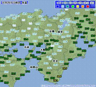 気温 201010261500-00