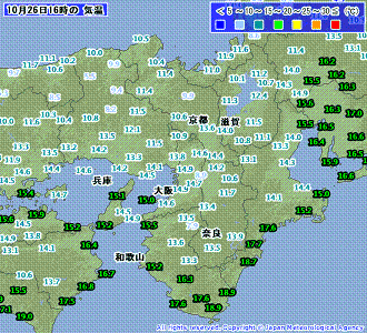 気温 201010261600-00