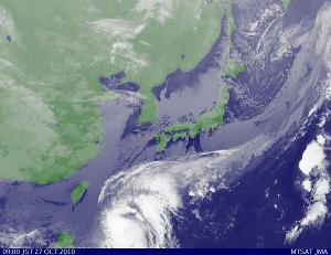 気象衛星 201010270900-00